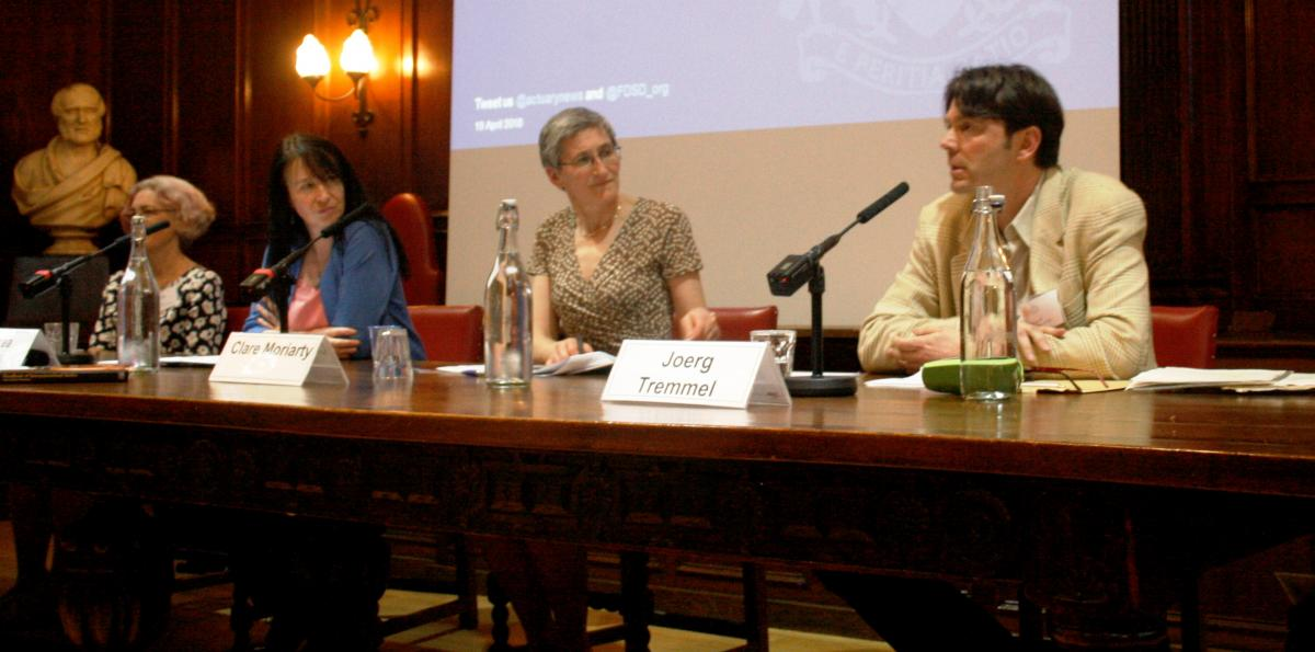 Image of panel at the event