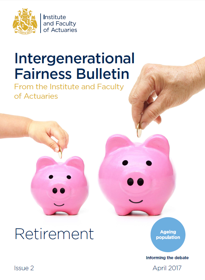 Cover of the Intergenerational Fairness Bulletin 2