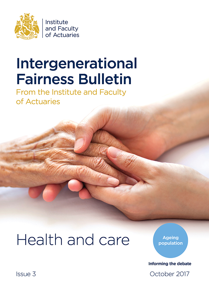 Longevity Bulletin issue 3 cover - hands appear on the front cover