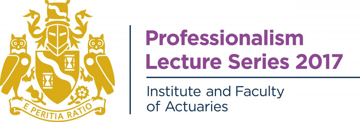 Professionalism Lecture series 2017 logo