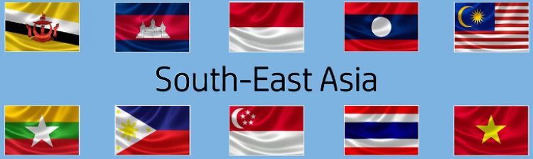 Flags of South East Asia